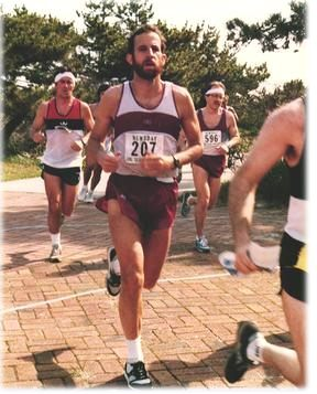 Running in the Long Island Marathon